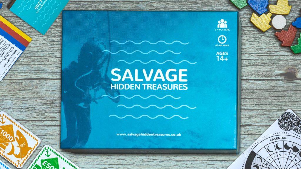 Salvage Hidden Treasures box cover
